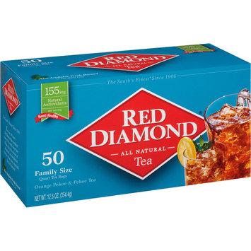 Red Diamond Orange Pekoe & Pekoe Tea Quart Tea Bags Family Size, 50 count, 12.5 oz