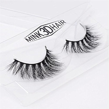Long Thick Dramatic Look Handmade Reusable 3D Mink False Eyelashes For Makeup 1 Pairs Pack A14