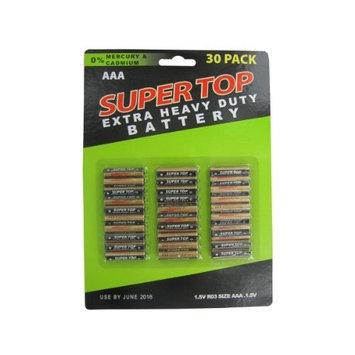Kole Imports Battery 30 Pack AAA Batteries (OA874)