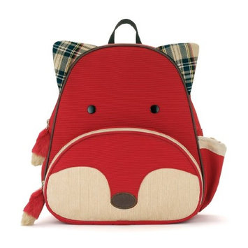 Skip Hop Zoo Toddler Kids Insulated Backpack Plush Set Moose Boy, 12-inches, Brown