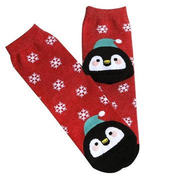 Clearance!Todaies Christmas Women Girl Casual Socks Cute Unisex Cotton Soft Breathable Warm Socks Hot sale!
