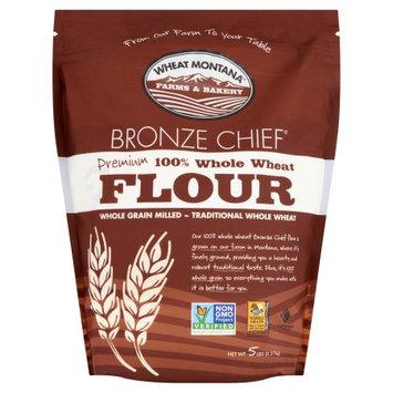 Wheat Montana Farms & Bakery Wheat Montana, Flour Wheat Brone Chief, 5 Lb (Pack Of 8)