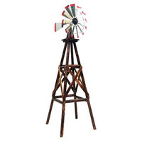 Char-Log TX93482 9' Windmill, Powder-Coated Finish