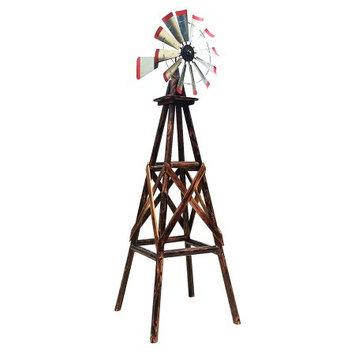 Char-Log TX93482 9' Windmill, Powder-Coated Finish