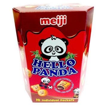 Meiji Hello Panda LARGE Chocolate Biscuit