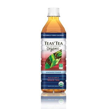 Teas Tea, Unsweetened Black Tea, 16.9 oz