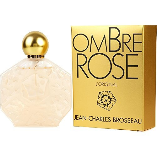 OMBRE ROSE by Jean Charles Brosseau EAU DE PARFUM SPRAY 2.5 OZ for WOMEN (Package of 3 )