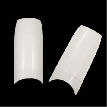Eamee 500 WHITE French Acrylic False Artificial Tips Nail Art by BrainyDeal