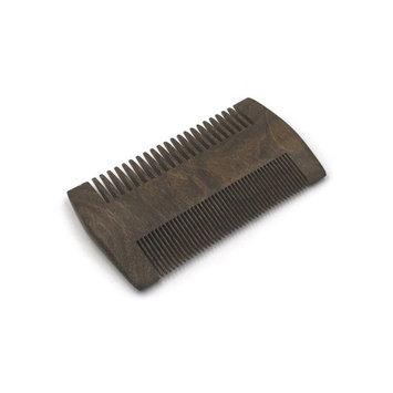 Hemlock Park Sandalwood Beard Comb | Fine & Coarse Tooth