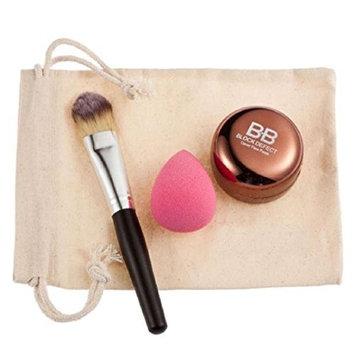 Lookatool Color Concealer + Powder Brush + Puff + Bag Super Combination