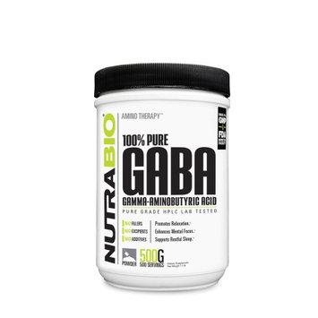 Nutra Bio NutraBio GABA Powder, 1.1 Lb