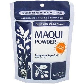 Navitas Naturals Organic Freeze-Dried Maqui Powder, 3 oz