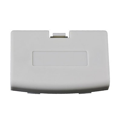 TTX Tech Third Party Battery Door Cover for Nintendo GBA - White Arctic