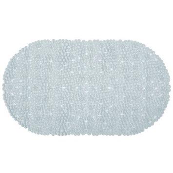 Richards Homewares Non-Slip Washable Bubble Bath Mat - Clear Finish