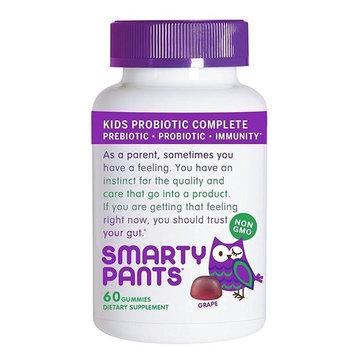 Smarty Pants Gummy - Kids Probiotic - Grape - 60 ct (Pack of 2)