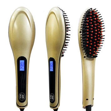 Z-Comfort Essential Ceramic Hair Detangling Brush Gold