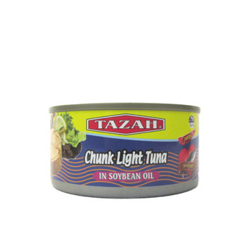 Chin Huay Co. Light meat tuna in soynbean oil