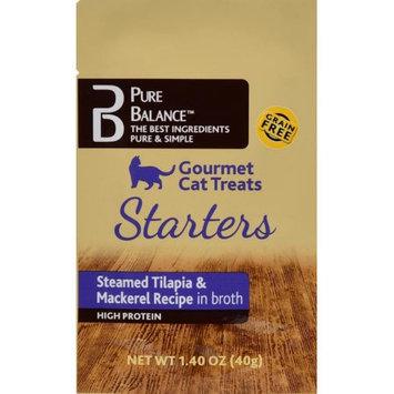 Us Pet Nutrition USPN Pure Balanceâ ¢ Gourmet Cat Treat, Steamed Tilapia & Mackerel 1.4 oz