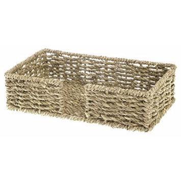 Boston International Guest Towel Napkin Caddy, Seagrass