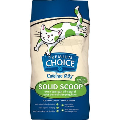 Premium Choice Products Premium Choice Extra Strength with Baking Soda Scoopable Cat Litter 25 Pound Bag
