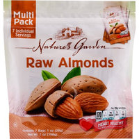 Cibo Vita Natural Almonds Multi Pack 7 Oz