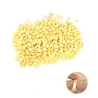 ULTNICE Painless Hair Removal Hard Wax Beans Stripless Full-Body Depilatory Wax Beads 100g (Light Yellow)