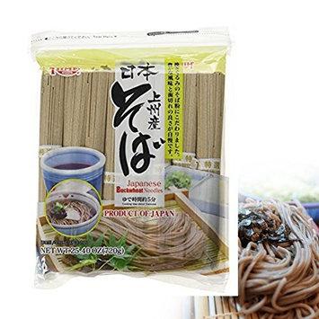 JAPAN Hime Dried Buckwheat Soba Noodles, 25.40-Ounce