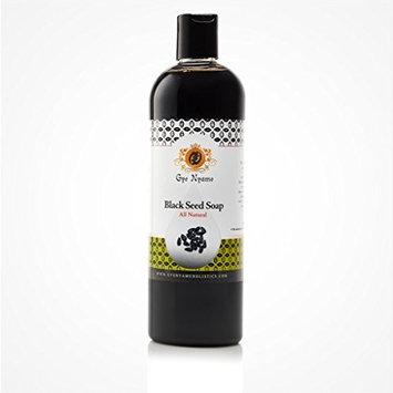 Gye Nyame Black Seed Liquid Soap ~ Natural