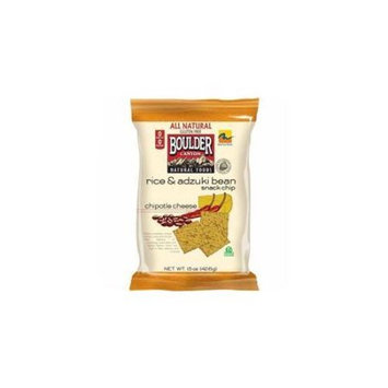 Boulder Canyon 28387 Chipotle Cheese Rice Bean Chip Gluten Free