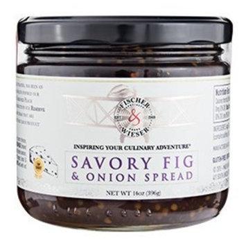 Fischer & Wieser Savory Fig & Onion Spread 14Oz. Limited Edition (1 Jar)