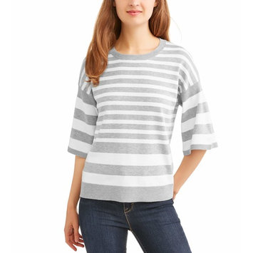 Women's Striped Pullover Sweater