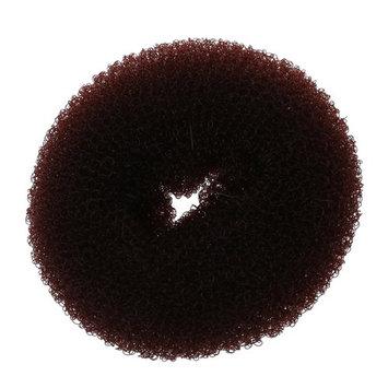 SODIAL Brown Donut Hair Ring Bun Former Shaper Styler Tool