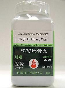 Qi Ju Di Huang Wan 100 gms by Min Tong