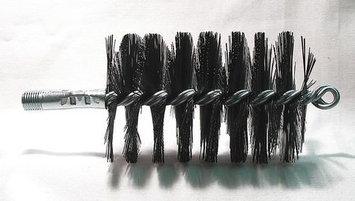TOUGH GUY 3EDF8 Flue Brush, Dia 3,1/4 MNPT, Length 8