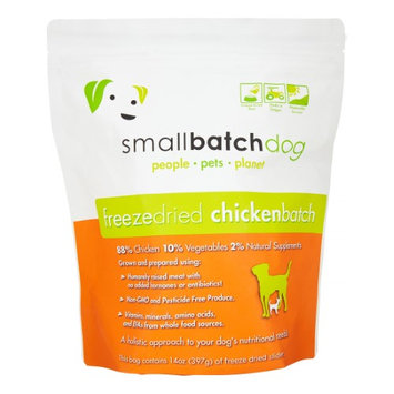 SmallBatch Freeze Dried Sliders for Dogs Chicken 14 oz Bag