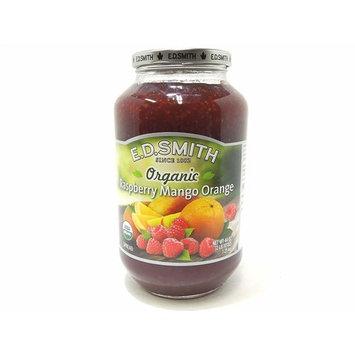 E.d. Smith Organic Raspberry Mango Orange Spread 44 Oz
