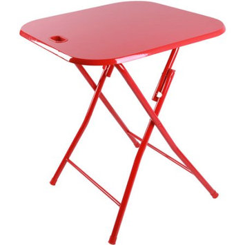 Atlantic Folding Portable Table with Handle, Multiple Colors