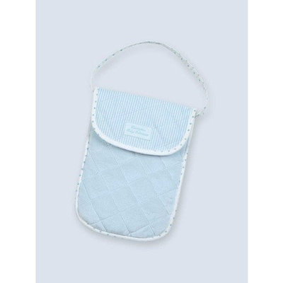 Bearington - Bradford Estate Collection - Blue Diaper & Wipe Holder