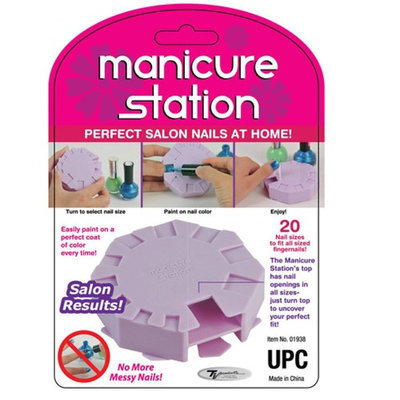 Atb Manicure Station Perfect Nails Salon Results Spa Beauty As Seen On Tv New Gift!