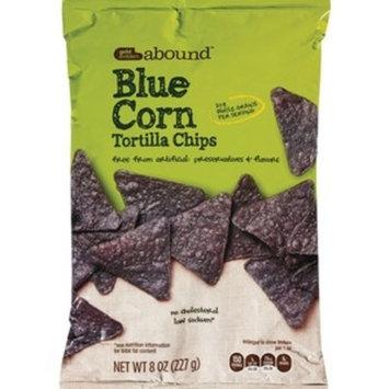 Gold Emblem Abound Blue Corn Tortilla Chips, 8 OZ