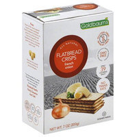 Goldbaums Goldbaum's All Natural French Onion Flatbread Crisps, 7 oz, (Pack of 12)
