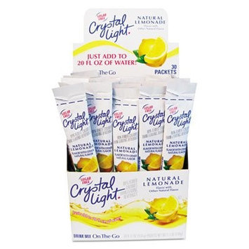 Kraft Foods Energy Drinks Powder Drink Mix, Lemonade, 8 Oz, Box of 30