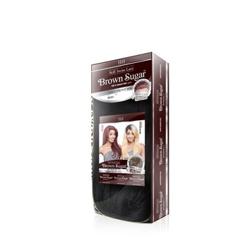 ISIS BROWN SUGAR Human Blended Lace Front Wig - BS204 (#1B - Off Black) by ISIS HAIR
