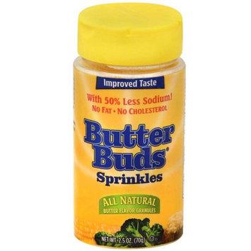 Butter Buds Butter Flavored Sprinkles Bottle, 2.5 OZ (Pack of 4)