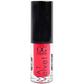 Outdoor Girl Mat Velvet Lip Gloss, 03, 0.09 oz