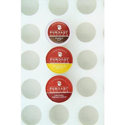 Puroast Low Acid Coffee Mixed Single Serve Keurig Cups, 30 Count [Variety Pack]