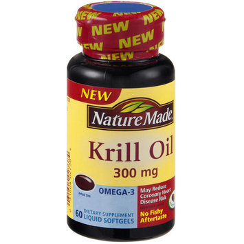 Nature Made Krill Oil 300mg, 60ct (Pack of 3)