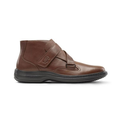 Dr. Comfort Joseph Mens Diabetic Dress Shoe Brown