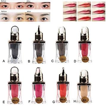 Binmer(TM) Microblading Pigment Permanent Makeup Eyebrow Lip Tattoo Ink High-graded