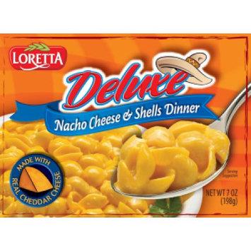 Bektrom Foods LORETTA DELUXE BUFFALLO WING SHELLS & CHEESE 7 OUNCE